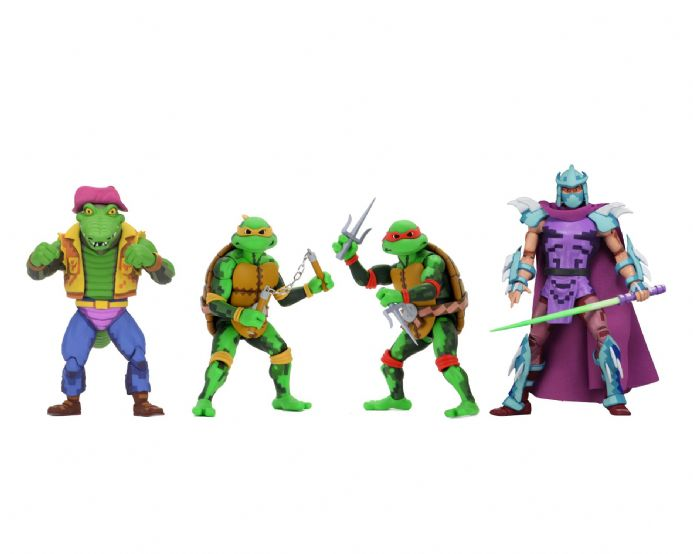 "NECA TMNT Turtles in Time 7"" Scale Figures - Series 2 Bundle 